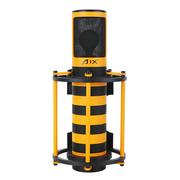 AIX RC-X1 专业录音电容麦克风 主播网络录音K歌直播设备话筒 时尚黄蜂