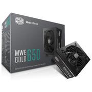 酷冷至尊 MWE650金牌 额定650W电源(80PLUS金牌/LLC全桥/DCtoDC架构/45°无损输出/3年换新)