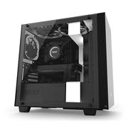 NZXT 恩杰  H400i 黑白 DIY智能microATX机箱(智能控制/主动降噪/钢化玻璃侧透/内置静音风扇/水冷支持)