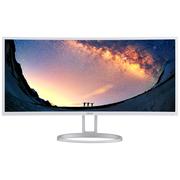 宏碁 EH351CR 35英寸21:9比例2500R曲率 准2K分辨率曲面显示器(HDMI+DP高清接口)