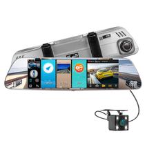 凌度 HS810A 8.0英寸安卓导航电子狗测速 蓝牙通话 前后双录产品图片主图