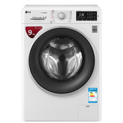 LG WD-VH451D0S 9KG大容量 蒸汽除菌 直驱变频全自动滚筒洗衣机 6种智能手洗 速净喷淋
