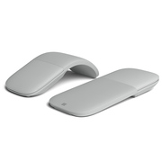 微软 Surface Arc 鼠标(亮铂金)