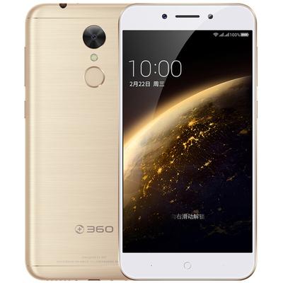360手机 手机 N5 全网通 6GB+32GB 流光金色 移动联通电信4G手机 双卡双待产品图片1