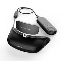 酷睿视  移动3D影院 高清 非VR眼镜一体机 成人头戴器 适配X-BOX游戏  G1(32G) 黑色产品图片主图