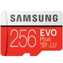 三星 存储卡256GB 读速100MB/s 写速90MB/s UHS-3 Class10 高速TF卡(Micro SD卡)红色plus升级版+产品图片主图