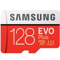 三星 存储卡128GB 读速100MB/s 写速90MB/s UHS-3 Class10 高速TF卡(Micro SD卡)红色plus升级版+产品图片主图