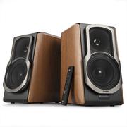 漫步者 叮咚 S2000W智能音箱 WIFI/蓝牙音响 电脑音箱 电视音响 棕榈色