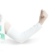 RND 防晒袖套 开车骑车臂套 户外运动出行男女通用 白色 直袖款