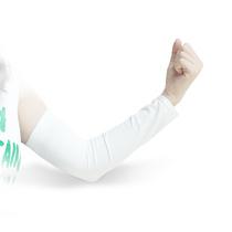 RND 防晒袖套 开车骑车臂套 户外运动出行男女通用 白色 直袖款产品图片主图