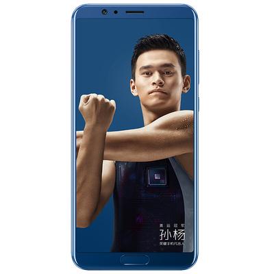 荣耀 V10全网通 高配版 6GB+64GB 极光蓝 移动联通电信4G手机 双卡双待产品图片2