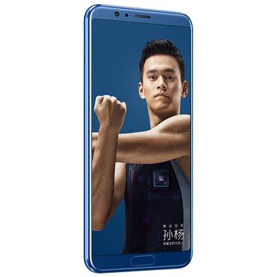 荣耀 V10全网通 高配版 6GB+64GB 极光蓝 移动联通电信4G手机 双卡双待产品图片4