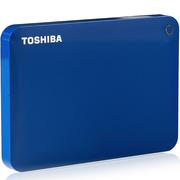 东芝 V9 CANVIO高端系列 2.5英寸 移动硬盘(USB3.0)2TB(梦幻蓝)