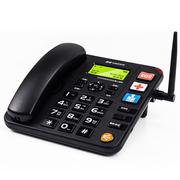 盈信 6型  无线电话 无线座机  插卡电话机座机 移动联通手机SIM卡 大音量 老人电话(黑色)