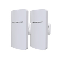 COMFAST CF-E112N 无线网桥2.4G大功率2公里CPE电梯监控WiFi 工程AP (2只装)产品图片主图