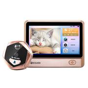 移康智能(eques) A29 猫眼门铃 智能猫眼wifi 电子猫眼防盗门镜 门铃家用