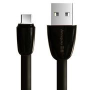 雷麦 Type-C数据线 手机充电器线 支持华为P10/mate9/荣耀V8/麦芒5/三星S8/小米6/乐视  标准版 1米 黑色