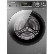 容声 RH100D1226BYT 10公斤 洗烘一体变频智能滚筒洗衣机 智能烘干 APP控制 暖衣 空气洗(钛晶灰)