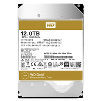 西部数据 金盘 12TB 7200转256M SATA6Gb/s 企业硬盘(121VRYZ)产品图片主图