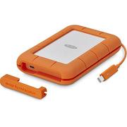 LaCie Rugged 雷电 USB3.1 Thunderbolt USB-C 2.5英寸 固态移动硬盘 1TB SSD