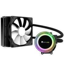 乔思伯 TW2-120标准版 一体式CPU水冷散热器 (RGB七彩流光冷头/12CM温控风扇/多平台/附带硅脂)产品图片主图