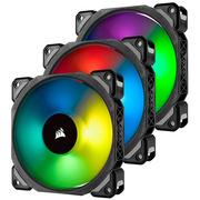 海盗船  ML120 PRO RGB 12cm 磁悬浮 PWM 炫彩灯光 电脑风扇 三颗装/五年质保