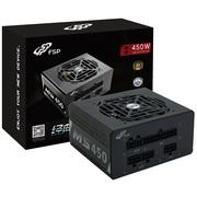 全汉 额定450W 经典版MS450 电源 (SFX电源/全模组/8cm温控风扇/固态电容)