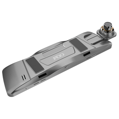 捷渡 D820全面屏行车记录仪 高清大广角流媒体后视镜 F1.8大光圈加强夜视 金属机身产品图片5