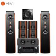 惠威 D3.2MKIIIHT+天龙(DENON)AVR-X2400H 5.1.2全景声家庭影院音响系统 7.1声道音箱功放套装