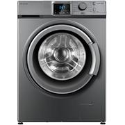 美菱 XQG80-98BE1 8kg直流变频滚筒洗衣机 高温杀菌 节能省水(钛晶灰)