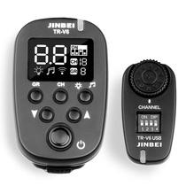 金贝 TR-V6引闪器 影室灯引闪器 2.4G无线遥控触发器 USB接收器 摄影器材产品图片主图