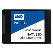 西部数据  Blue系列-3D版 500GB SSD固态硬盘(S500G2B0A)