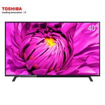 东芝 40L2600C 40英寸 智能安卓WiFi火箭炮 液晶电视(黑色)产品图片主图