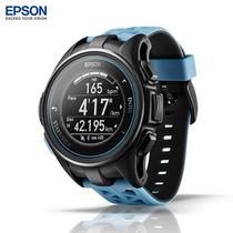 爱普生 J-300  GPS 马拉松光电心率手表水下心率手表 公路蓝产品图片主图