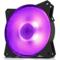 酷冷 MasterFan MF120R RGB机箱风扇(均衡型风扇/旋翼扇叶/12cm/同步4大板商RGB灯效)产品图片1