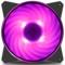 酷冷 MasterFan MF120R RGB机箱风扇(均衡型风扇/旋翼扇叶/12cm/同步4大板商RGB灯效)产品图片2