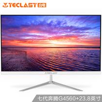 台电 X24 Pro 23.8英寸 超薄办公家用一体机电脑(奔腾G4560 4G 128G固态 Wifi 正版Win10)产品图片主图