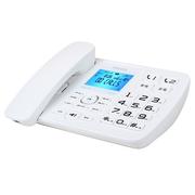 飞利浦 CORD165录音电话机/留言答录/存储卡扩展/办公商务家用保密插卡座机电话HCD9669(225)TSD白色