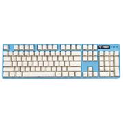 iNSIST Designer 104侧刻 机械游戏键盘 Cherry樱桃 青轴 蔚蓝色 绝地求生吃鸡键盘