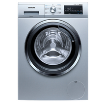 西门子  10公斤 洗烘一体洗衣机 3D立体烘干 热风除菌 (欧若拉银)XQG80-WD14G4641W产品图片主图