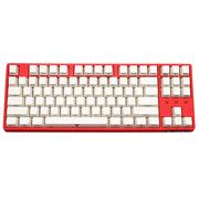 iNSIST Designer 87侧刻 机械游戏键盘 Cherry樱桃 青轴 西瓜红 绝地求生吃鸡键盘
