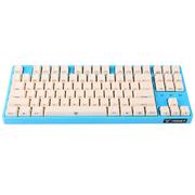 iNSIST Designer 87侧刻 机械游戏键盘 Cherry樱桃 红轴  蔚蓝色  绝地求生吃鸡键盘