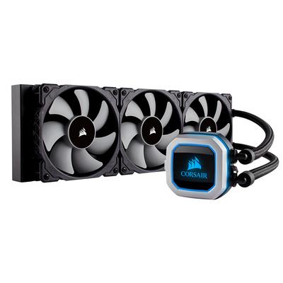 海盗船  H150i PRO RGB 一体式CPU水冷散热器 360MM冷排 三磁悬浮风扇 五年质保产品图片1