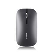 黑爵 I25t 双模鼠标蓝牙无线鼠标  无声静音 深空灰  笔记本 电脑 平板 macbook 苹果 办公 商务鼠标