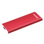 金胜 S6 500GB Type-C 3.1 移动固态硬盘 中国红