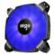 爱国者  BX12双扇叶 深海蓝 12CM机箱风扇(小4pin PWM温控接口/双扇叶/水涡轮增压/双电击/赠4螺丝)产品图片1