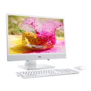 戴尔 灵越AIO 21.5英寸IPS窄边框一体机台式电脑(i5-7200U 4G 1T MX110 2G独显 无线键鼠 白)