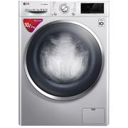 LG 10公斤DD变频直驱洗烘一体蒸汽洗全自动洗衣机  蒸汽除菌 奢华银 WD-C51QHD45