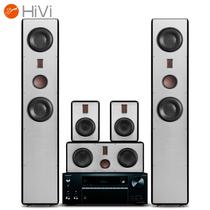 惠威 RH6+安桥 TX-NR676E 音箱 功放 5.0声道家庭影院音响组合 客厅高保真音箱套装 木质 HiFi落地箱 黑色产品图片主图