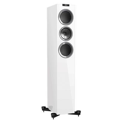 KEF R700 白色 高保真音响 Hi-Fi扬声器 高配家庭影院扬声器 发烧同轴音箱 落地主箱 一对产品图片2
